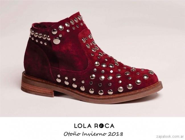 botita de gamusa bordo invierno 2018 - Lola Roca