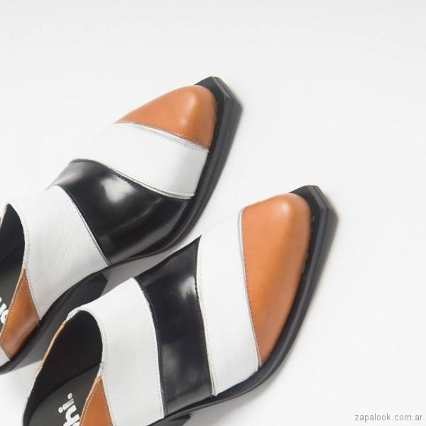 zapatos franja de colores mujer invierno 2018 - Phi Shoes