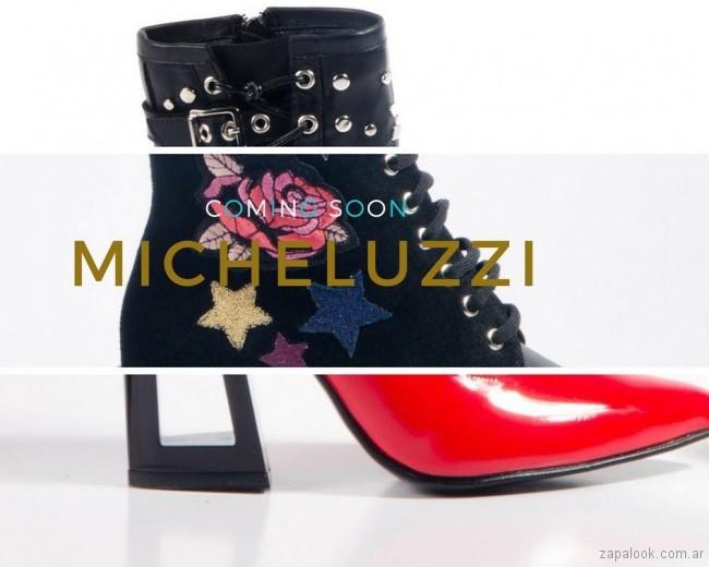 Micheluzzi anticipo calzado otoño invierno 2018