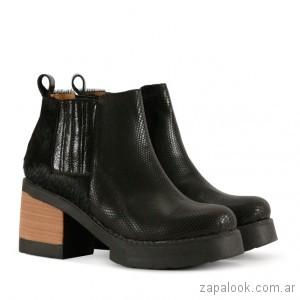 anticipo coleccion calzado batistella para mujer invierno 2018. botineta  con elastico para mujer invierno 2018 - Calzado Batitella 01058045e35b