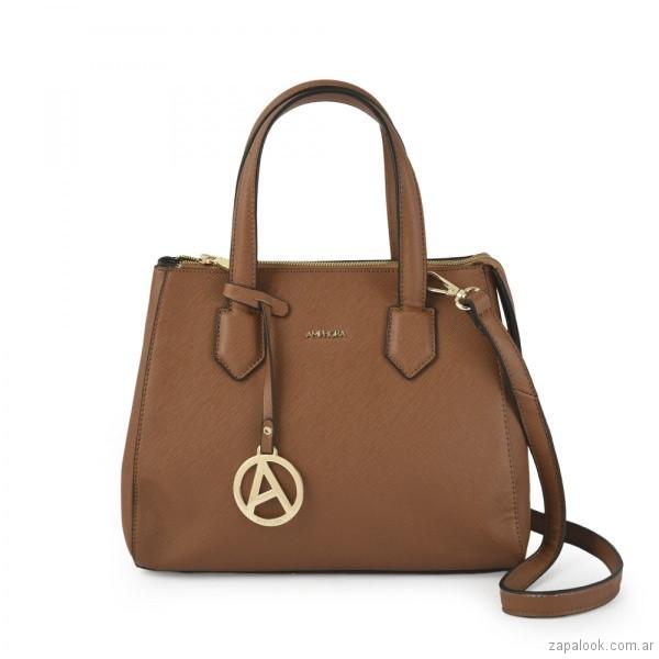 bajo precio 46d85 89a7a cartera color suela Amphora – Carteras de moda otoño ...
