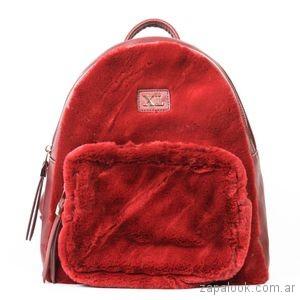 mochila roja peluche invierno 2018 - Xl extra large