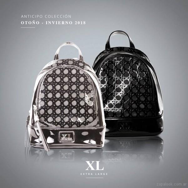 mochilas Carteras de charol invierno 2018 - Xl extra large