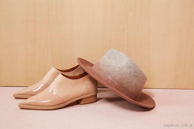 zapato bajos para mujer invierno 2018 - Vitamina
