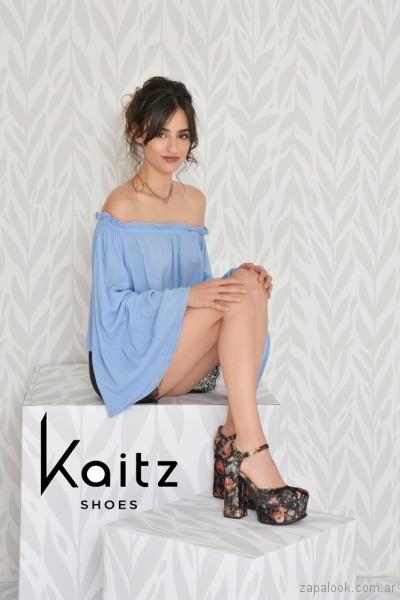 zapatos estampados fiesta invierno 2018 - Kaitz