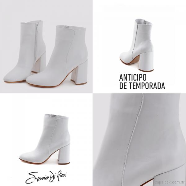 Botas caña corta blanca Saverio Di Ricci – Zapalook – Calzados de ... d6646a4548f