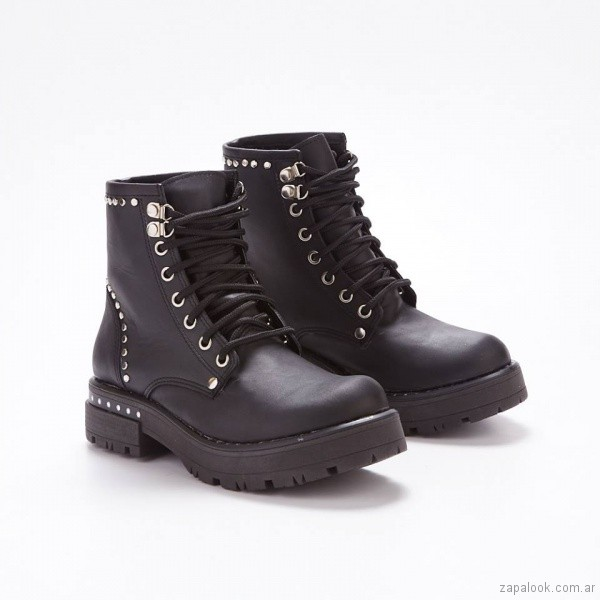 borcegies negros invierno 2018 - calzados Savage