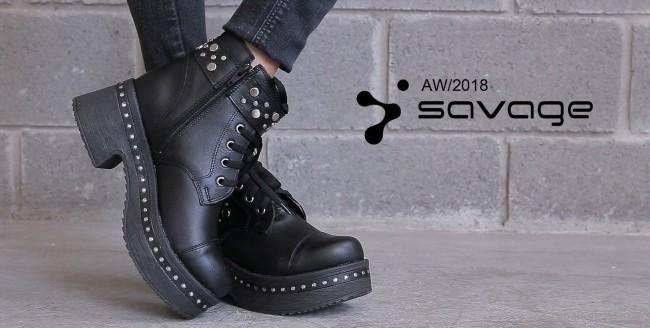 borcego de moda invierno 2018 - Savage