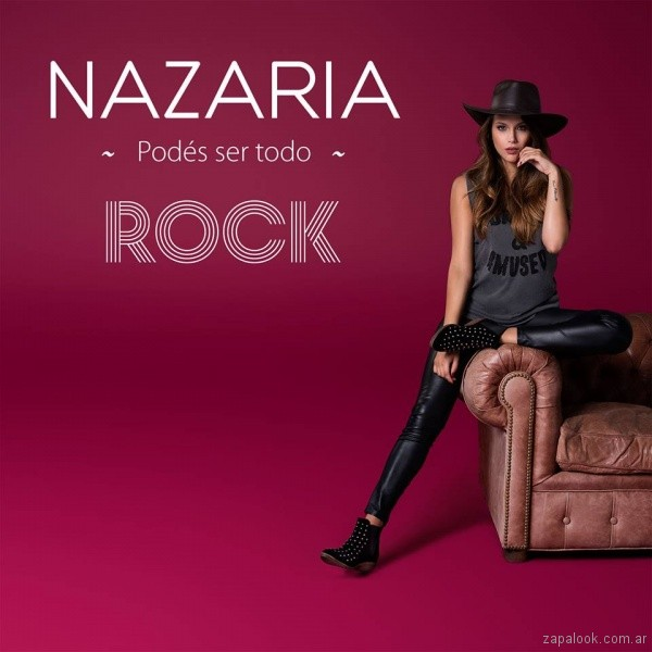 botas con tachas - look juvenil invierno 2018 - Nazaria