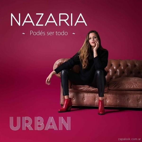 botas rojas - look juvenil invierno 2018 - Nazaria
