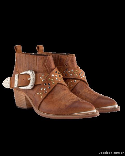 botas texanas de cuero invierno 2018 - Benito Pie - calzado Boho chic