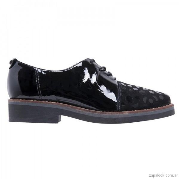 6f75e6eb zapato acordonado para mujer invierno 2018 Hush Puppies – Zapalook