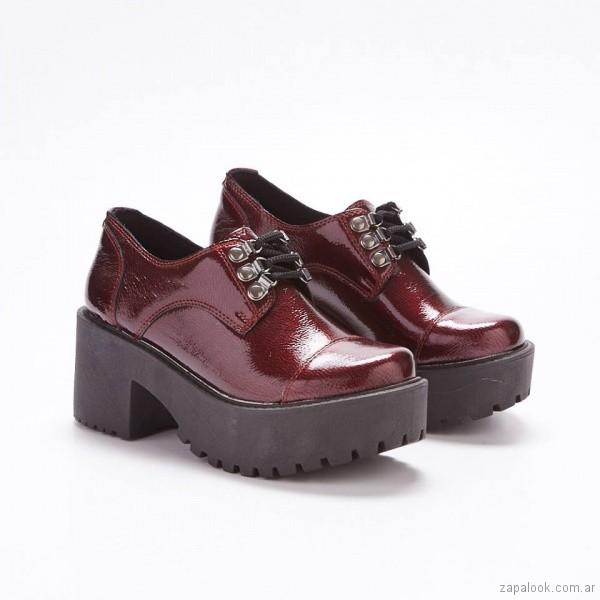 zapatos estilo borcegos invierno 2018 - calzados Savage