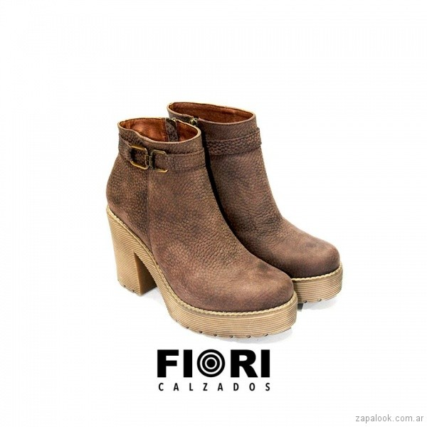 tienda de liquidación 8662e d6d0c botas con tacos altos para mujer invierno 2018 FIORI ...