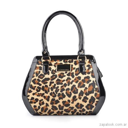 cartera animal print invierno 2018 - Ferraro