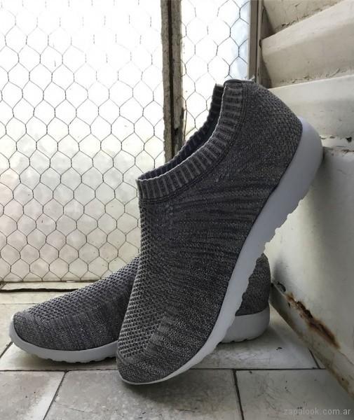 zapatillas calcetin invierno 2018 - Fragola