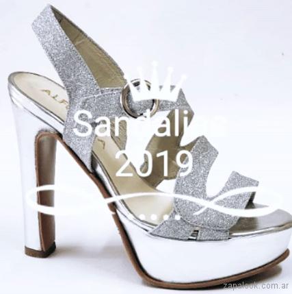 Sandalia para fiesta verano 2019 - Alfonsa Bs As