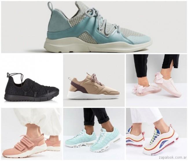 Zapatillas urbanas de moda para mujer verano 2019