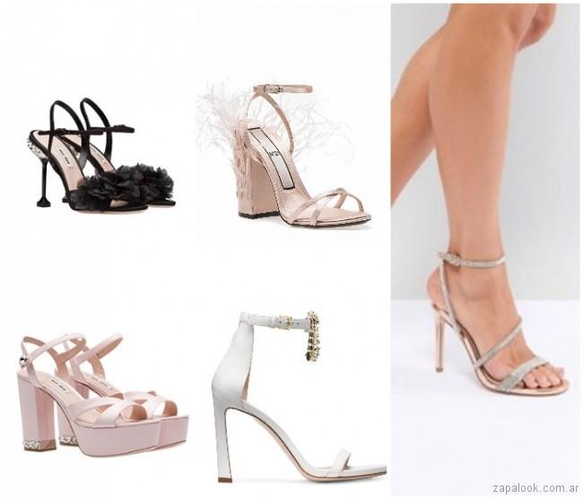 Zapatos de noche de fiesta moda verano 2019 - Argentina 5dd94c7c7cd6