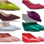 Sandalias y Zapatos de colores primavera verano 2019