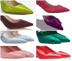 8d7468958ae Sandalias y Zapatos de colores primavera verano 2019
