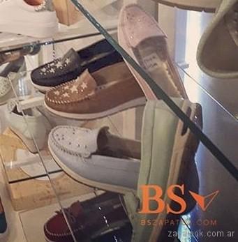 mocasines para mujer verano 2019 - BS Zapatos