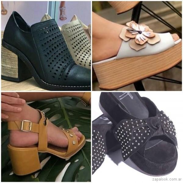 63d17152b05 Calzados primavera verano 2019 – Anticipo sandalias y zapatos Argentina