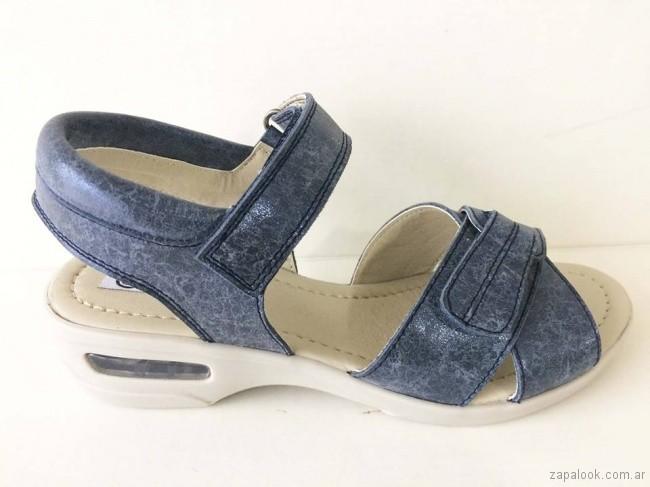 sandalias azules para señoras - Circle Urbano verano 2019