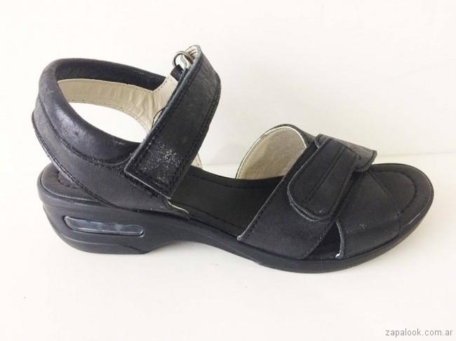 sandalias negras para señoras - Circle Urbano verano 2019