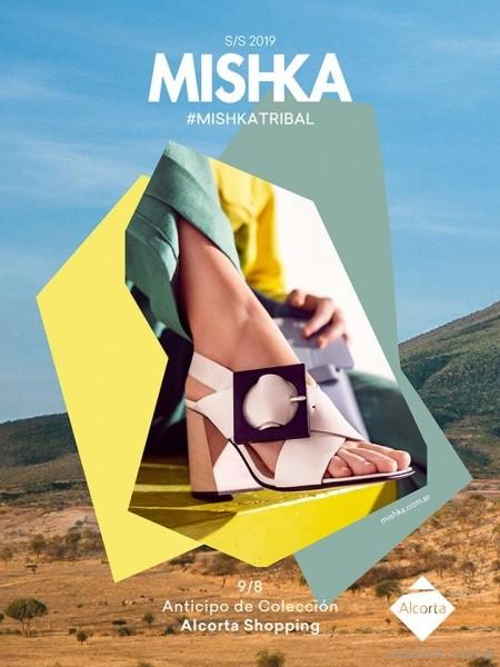 Sandalia blanca verano 2019 - Calzado Mishka