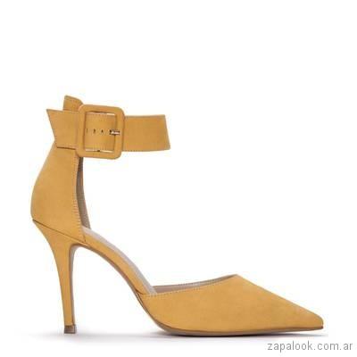 Stilettos amarillos verano 2019 - Justa Osadia