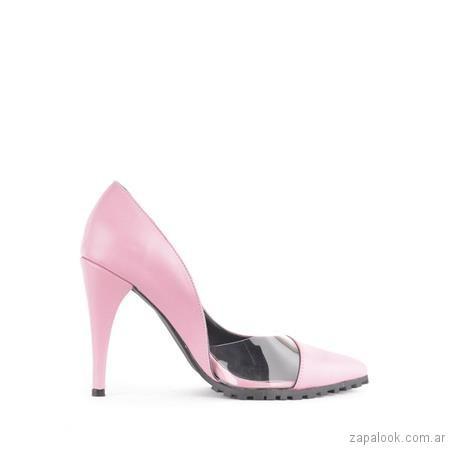 Stilettos rosados fiesta verano 2019 - Ferraro