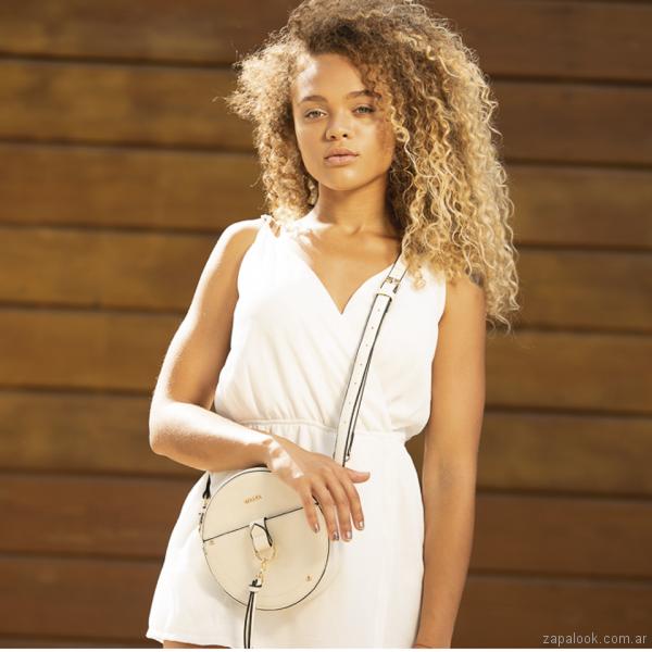 Tropea - carternas bandoleras blanca primavera verano 2019