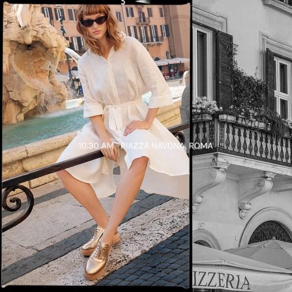 Zapato abotinado mujer verano 2019 - Viamo