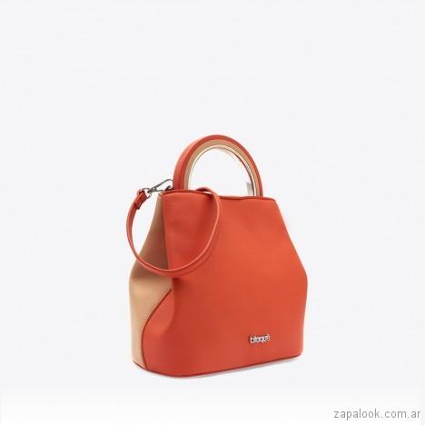 bolso naranja primavera verano 2019 - Blaque