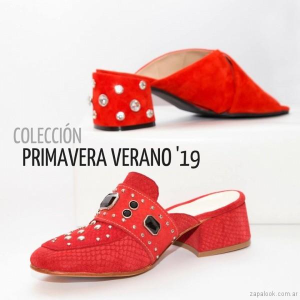calzados rojos para mujer verano 2019 -Pepe cantero