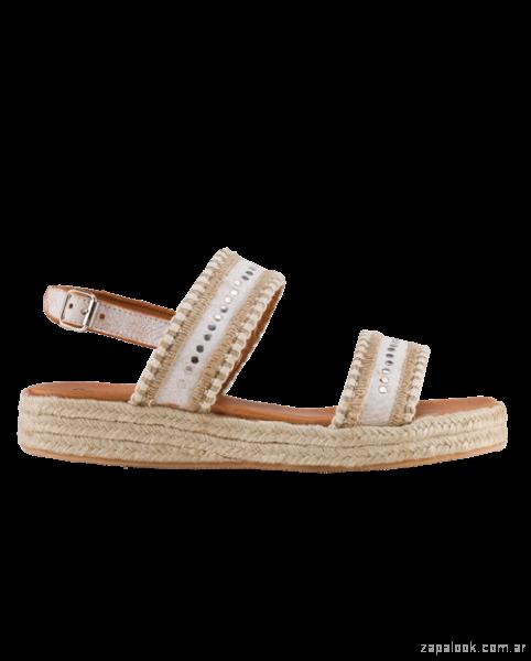 sandalias base de yute look informal bohemio primavera verano 2019 - Bendito Pie