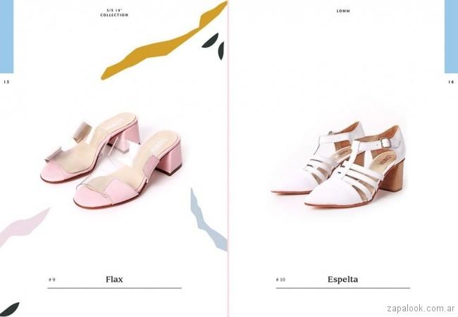 sandalias y zapatos primavera verano 2019 -Lomm shoes