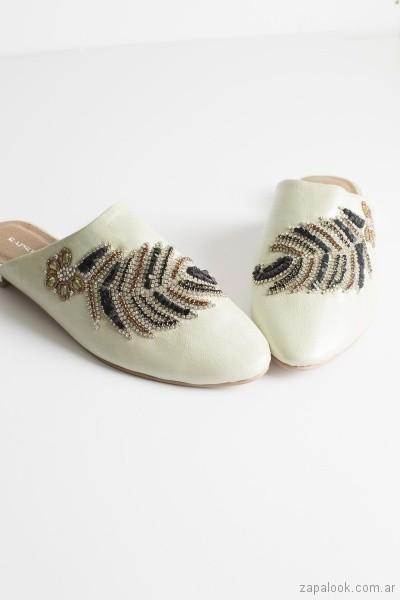 slippers con strast verano 2019 - Rapsodia