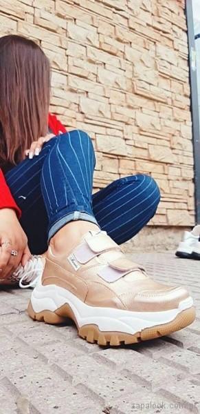 zapatillas con abrojos primavera verano 2019 - Calzados Micaela Pasos que enamoran