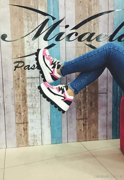 zapatillas urbanas de moda teenager primavera verano 2019 - Calzados Micaela Pasos que enamoran