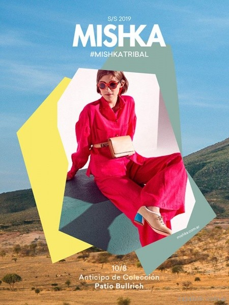 zapato abotinado rosa verano 2019 - Calzado Mishka