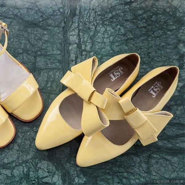 zapatos amarillos verano 2019 - Justa Osadia