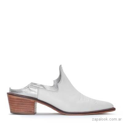 zapatos blancos verano 2019 - Justa Osadia