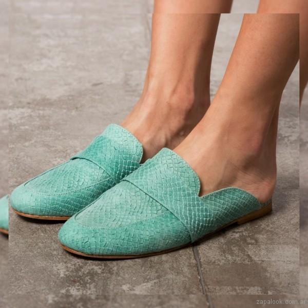 zapatos turquesa para mujer verano 2019 -Pepe cantero