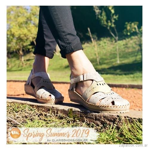 Claris Shoes - sandalias para señoras verano 2019 - Claris Shoes
