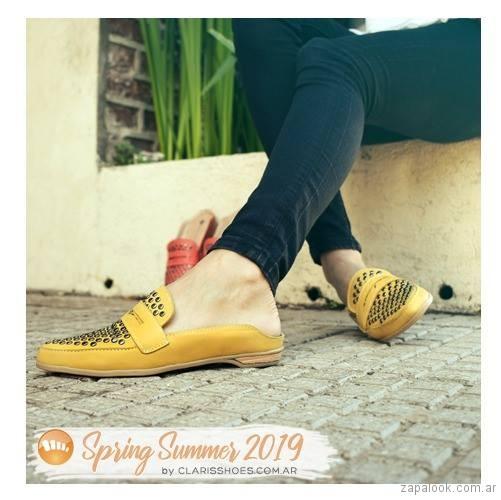 Mocasines destalonados verano 2019 - Claris Shoes