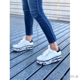 Zapatillas blancas originales juveniles verano 2019 - Pamuk