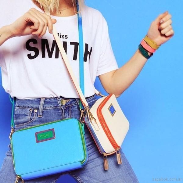 bandoleras coloridas verano 2019 - Jackie Smith