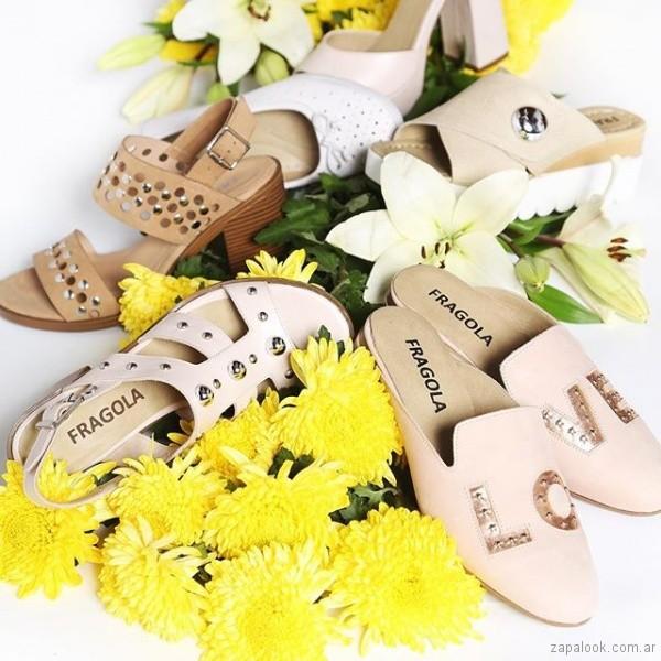 calzados para mujer verano 2019 - Fragola